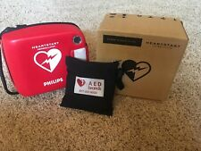 Philips HeartStart Defibrillator & first aid kit(NEW PADS & BATTERIES)