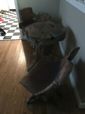 Exotic Wood Furniture Table and Chairs
