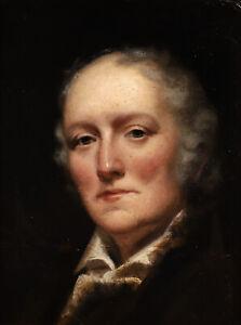 1820's FINE GEORGIAN SCOTTISH OIL PORTRAIT OF JOHN WILSON - HENRY RAEBURN