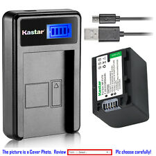 Kastar Battery LCD Charger for Sony NP-FV70 NP-FV100 NP-FV50 & Sony BC-TRV BCTRV