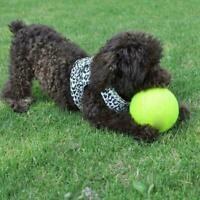 Giant Tennis Ball Pet Toy Dog Puppy Cat Chucker Thrower Play Toy Launcher E5G7