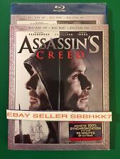 Assassin's Creed Blu-ray 3D + Blu Ray + HD & Slipcover Brand New Free Shipping