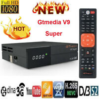Gtmedia V9 Super DVB-S2 Satellite TV Receiver Built-in Wifi Full HD 1080P H.265