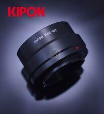 New Kipon Adapter for M42 Mount Lens to Nikon 1 Mount N1 J1 S2 V3 Camera