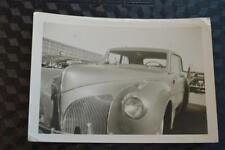 Vintage Car Photo 1941 Lincoln Continental Classic Automobile 876