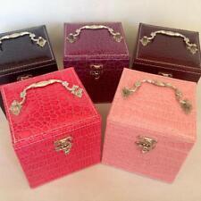 Jewelry Ring Necklace Earring Bracelet Display Storage Box Case Casket