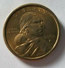 2000 P Liberty Sacagawea Dollar Coin U.S. Mint $1 Native American Sacajawea