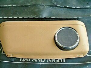 Jaguar Left Rear Arm Rest with speaker. From a 1986 XJ6 series 3 car
