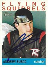 Andrew Susac San Francisco Giants 2013 Topps Heritage Signed Card