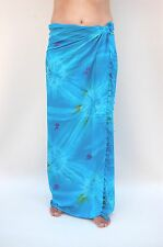Sarong (sa375p) Premium Qualità Pareo Panno fasciatoio Rock MISSONI Sari Pareo
