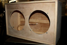 rawcabs 2x10 dove tail rear load open or close back empty pine speaker cabinet
