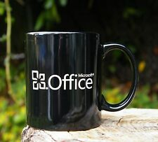 Black Microsoft Office Coffee Mug Cup Computer Word Excel PowerPoint Windows