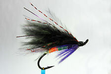 1 x mouche Saumon SIGNAL LIGHT SINGLE hook salmon fly steelhead hairwing fliegen