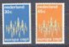 Nederland  1007-1008 Ver.Europa  1972 luxe postfris