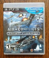 Air Conflicts: Pacific Carriers PS3 (Sony PlayStation 3, 2013)