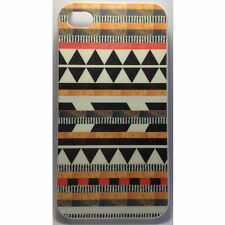 Aztec Design Orange Black iPhone 4 / 4s Case for Apple