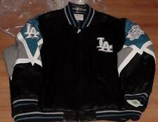 Los Angeles Dodgers Leather Jacket XL Specialty Embroidered G-III MLB