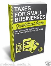 Prepare for Tax Day: Taxes for Businesses (Small Business, Taxes & Accounting)