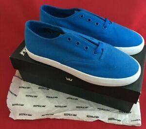 Supra Mens Wrap Royal Blue Skateboarding Shoes Brand New Boxed