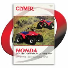 1985 Honda TRX125 Repair Manual Clymer M311 Service Shop Garage Maintenance