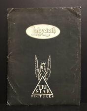 1986 Labyrinth Movie Press Kit - Jim Henson - David Bowie -  Muppets Rare