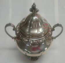 Vintage Wallace Sterling Silver Grande Baroque Sugar Bowl, Approximately 566g