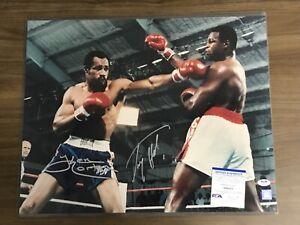 LARRY HOLMES & KEN NORTON signed 16x20 photo Auto Autograph PSA/DNA