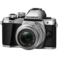 Olympus OM-D E-M10 Mark II Mirrorless Digital Camera  14-42mm R Lens Silver