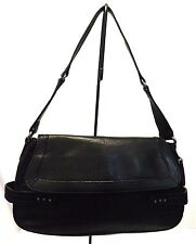 Rolfs Women's Handbag, Black Satchel Bag, Leather Purse, Depth 3.4 Height 8