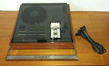 Vintage Retro Fairmont Portable Record Player and Radio Made in Japan