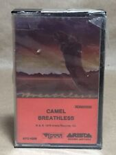 Camel Breathless NEW OLD STOCK CASSETTE 1978 PROG ROCK Arista Records & Tapes