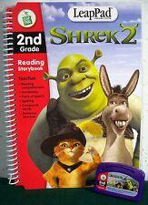 """LeapFrog LeapPad """"Shrek 2"""" Reading Storybook & Cartridge - 2nd Grade"""