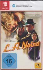 L.A. Noire - Nintendo Switch - NEU & OVP - Deutsche Version - USK 16 - Rockstar