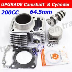 UPGRADE Camshaft 64.5MM BIG BORE Cylinder Piston Kit For HONDA CRF150F CRF 150 F