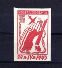 """POLOGNE Oflag Camp de Murnau Bloc """"D"""" Fischer timbre n° 4 neuf sans gomme"""