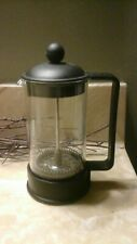 French Press For Coffee Making Tea Pot Glass Small 3 Cup Espresso Bodum Black