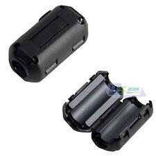 7mm Ferrite Core Ferrous Ring Bead Block Choke Wire-clip on Noise Filter-emi&rfi