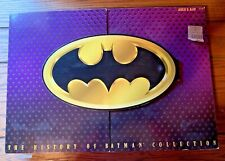 The History of Batman Collection Kenner 3 Figurines and Cards in Box 27587 1996