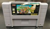 SNES Super Mario Kart Word Game Cart ONLY Super Nintendo AUTHENTIC Tested