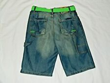 Boys Route 66 Jean Shorts Size 14 NWT