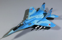 1:100 Russian Air Force MiG-29 Fulcrum Fighter Aircraft Diecast Display Model