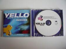 Yello Eccentrix Remixes CD 1999 Mercury CD EXC++ The Race Vicious Games etc