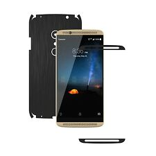 1+1 FREE Skin,15 Colors Full Body Carbon Decal Case Wrap for ZTE Axon 7