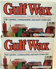 Gulf Wax Household Paraffin Wax For Canning Candlemaking Beauty Lot Of 2-16 Oz