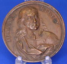 More details for johannes john milton copper uniface roundel /medallion, 43mm **[18876]