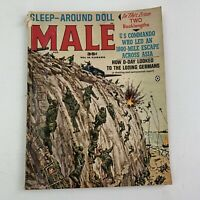 Male Magazine Aug 1963 Men's Pulp War Cover D Day Invasion Normandy