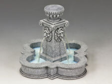 KING AND COUNTRY Four Lions Town Fountain (Greystone) SP80 SP080
