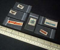 1940s-50s Flying Model Fuselage Decals x 6. Titania Dope, Airyda, Skyrova, Frog.