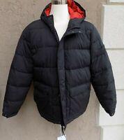 $150 Men's Size XL American Eagle Puffer Down Fill Coat Jacket Black Orange