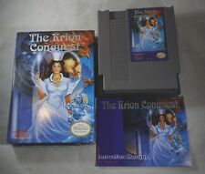 Krion Conquest (Nintendo NES) Complete in Box GREAT